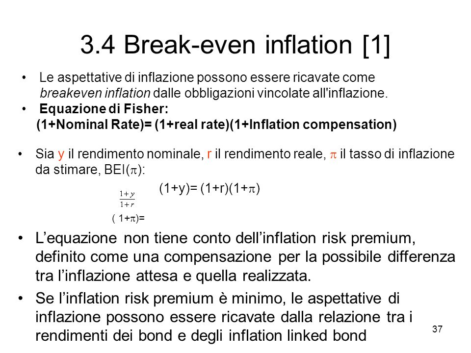3.4 Break-even inflation [1]
